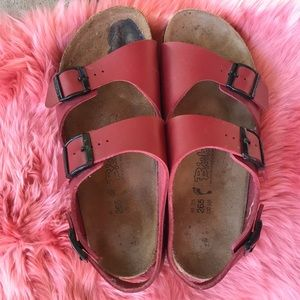 Birkenstock Betula Red Sandals Size 11